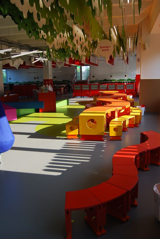 Play area in Henkel's Forscherwelt