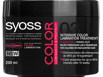 Treatment Syoss Color Luminance & Protect