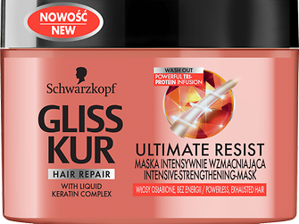Gliss Kur ULTIMATE RESIST Intensive-Strengthening-Mask